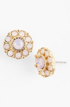 floral stone earrings / nordstrom