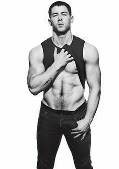 Nick Jonas Shirtless, Shirtless Men, Jonas Brothers, Nick Jonas Photoshoot, Tatto Boys, Just Beautiful Men, Boy Photography Poses, Hommes Sexy, Hot Hunks