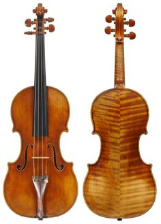 This Sacconi violin from 1932 shows his masterly antiquing skills. Sacconi's copies are some of the finest ever produced – yet his work is still clearly recognisable as his own