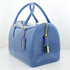 HANDBAG FURLA CANDY BAG OXFORD - PVC - MADE IN ITALY - 745913 #Furla #Satchel