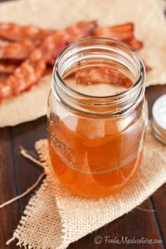 Bacon Infused Bourbon | The Marvelous Misadventures of a Foodie
