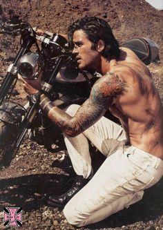 Oh dear god - I'd buy a motorcycle and break it if he was the mechanic!