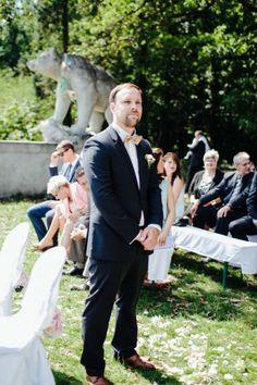 Anja und Maik: Freie Trauung im Vintage-Stil Thomas Sasse http://www.hochzeitswahn.de/inspirationen/anja-und-maik-freie-trauung-im-vintage-stil/ #wedding #mariage #vintage