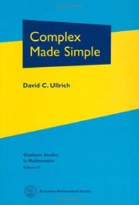 Complex made simple / David C. Ullrich