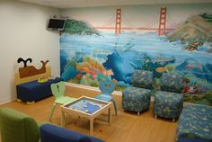Colorful for kids  Pediatric Emergency Department