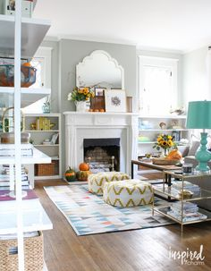 Easy fall decorating ideas | Inspired by Charm Fall Home Tour