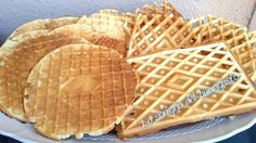 Ferratelle abruzzesi Biscotti Cookies, Italian Desserts, Gelato, Crepes, Macarons, Buffet, Biscuits, Food And Drink, Sweets