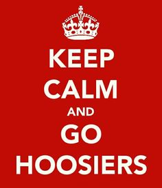 Very fitting for March Madness! Go IU!