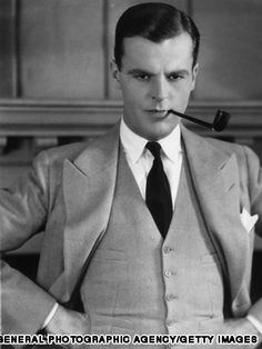 """American actor Neil Hamilton, as he appeared in """"The Great Gatsby,"""" a silent film made in 1926."""