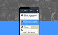 Bublity App : Make group chat with people when you watching #GameofThrones bublity.com