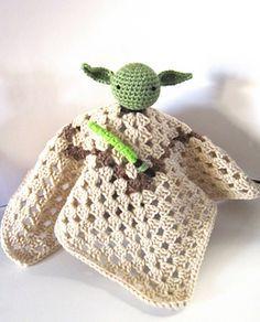 Yoda Inspired Lovey  by Kristen's Kords - Free crochet pattern