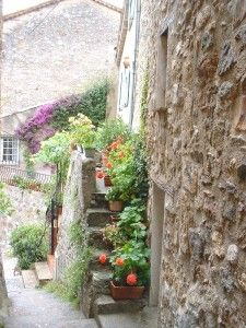 Auribeau, France, apicturesque village in the Alpes Maritimes
