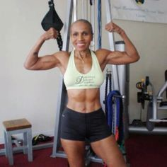 72 year old person trainer and the worlds oldest female body builder.