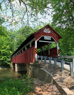 PA Covered Bridges - Lower Humbert Bridge
