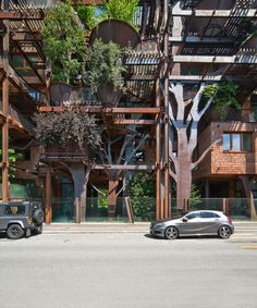 luciano pia plants 25 verde, a green urban treehouse in torino, italy on imgfave