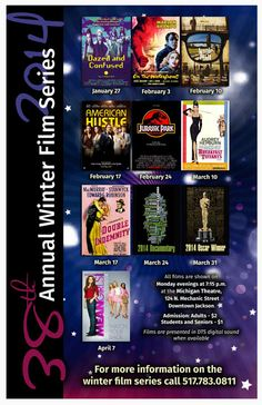 2014 Winter Film Series by Jackson College
