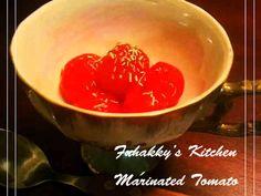 BARで伝授★美味しいミニトマトマリネの画像