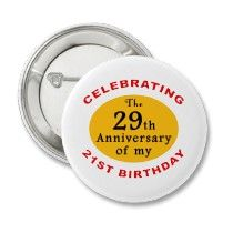 50th Birthday Gag Gifts Button by birthdaygifts