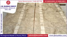 Brescia Aurora (Imported Marble) In JB Marble Group Chittorgarh Aurora, Marble, Coding, Group, Marbles, Programming, Northern Lights