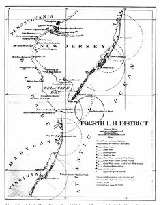 4th Lighthouse District Map