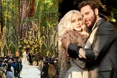 Opulent Celebrity Redwood Forest Wedding Channels Tolkien and Fairytales Big Sur Wedding, Floral Wedding, Dream Wedding, Wedding Day, Wedding Stuff, Wedding Venue Decorations, Wedding Venues, Wedding Photos, Fairy Tale Forest