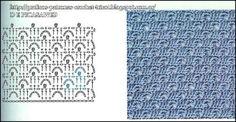 PATRONES=GANCHILLO = CROCHET = GRAFICOS =TRICOT = DOS AGUJAS: CUADRADITOS CROCHET