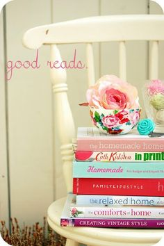 Shabby Chic JoyMy Summer BOOK LIST!by Shabby Chic Joy