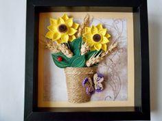 Quilling by Ada: Floarea-Soarelui