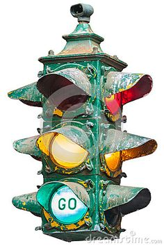 Vintage Working GE Traffic Light Schenectady New York Traffic - Traffic light for bedroom