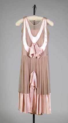 Evening dress Paul Poiret (French, Paris 1879–1944 Paris) Date: ca. 1928 Culture: French Medium: Silk
