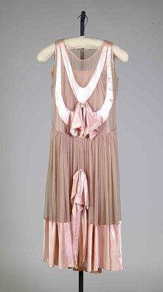 Evening dress Paul Poiret (French, Paris 1879–1944 Paris) Date: ca. 1928 Culture: French Medium: Silk