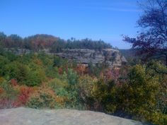 Lookout Point, from Natural Bridge in Natural Bridge State Park, KY