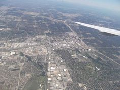 Coming into land at DFW! Photo submitted by Rebecca McCoy