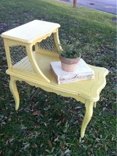 Paint Project: End tables - Magnolia Homes