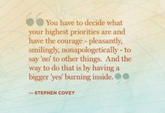 pause | stephen covey quote | covet living
