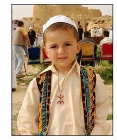 Amazigh Berber child in Algeria