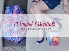 One the blog: 12 Travel Essentials with Vera Bradley #sp