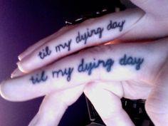Jinxx and Sammi Doll's matching tattoos <3 I love these tattoos.
