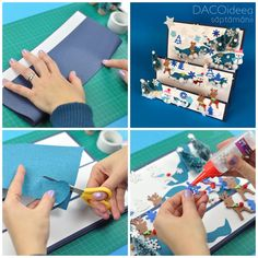 Who doesn't like a beautiful winter scenery? Now you can learn how to create a one, as an indoor activity with the loved ones. Diy Craft Projects, Diy Crafts, Winter Scenery, Indoor Activities, First Love, 3d, Learning, Create, Inspiration