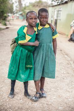 Schoolgirls . Uganda