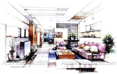 architectural illustration - Google Search
