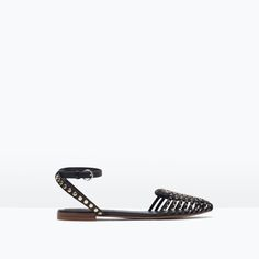 Image 1 of CAGE SANDALS WITH STUDS from Zara