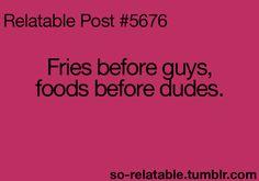 Mmmm girl. Always.
