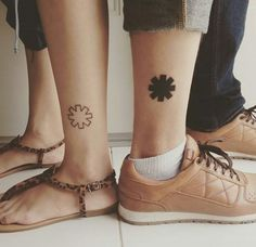 Red Hot Chili Peppers Couple Tattoo♡