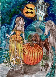 Cinderella past midnight by almightystarfish.deviantart.com on @deviantART
