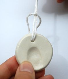 Mothers Day Gift Idea: Fingerprint Pendant - Things to Make and Do, Crafts and Activities for Kids - The Crafty Crow