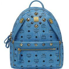 MCM Backpack Worldwide Small 2014 Blue