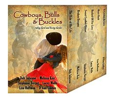 Cowboys, Bulls and Buckles by Deb Julienne https://www.amazon.com/dp/B01JD282IM/ref=cm_sw_r_pi_dp_x_jYA3xb4EG1N9F