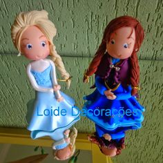Elza e Ana Frozen