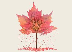 """""""Fall"""" - Threadless.com - Best t-shirts in the world"""